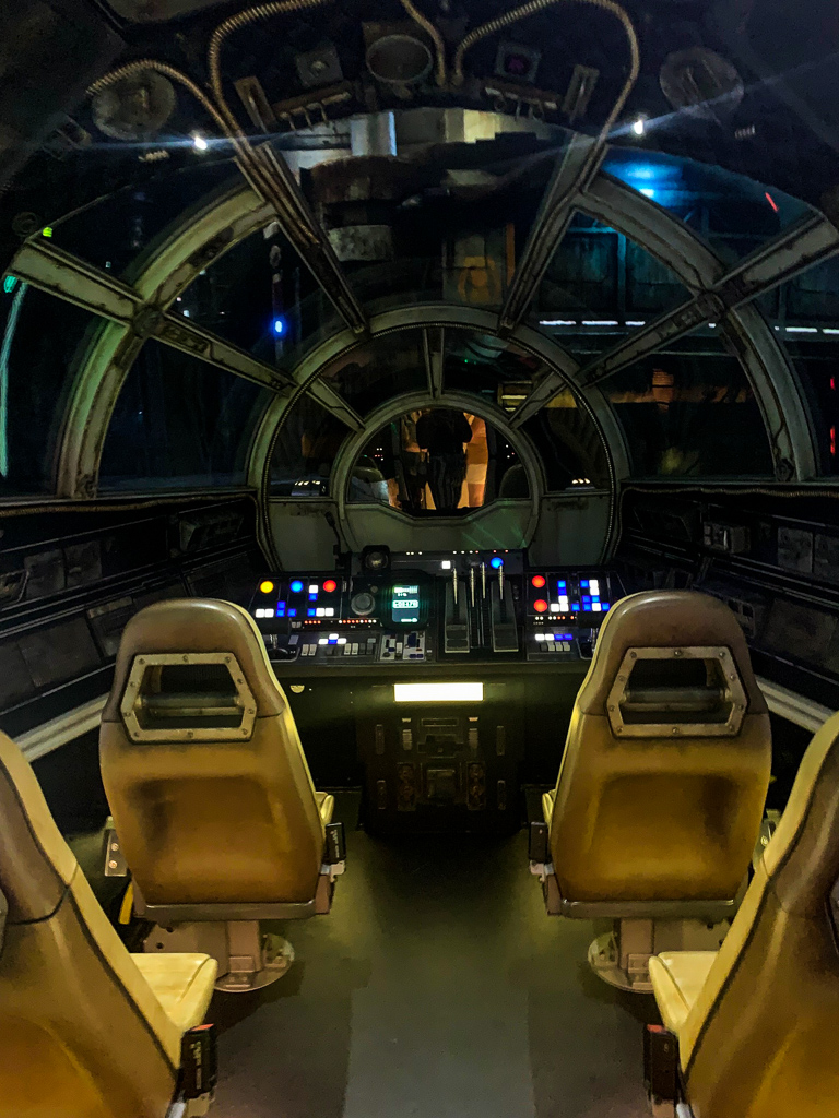 Millennium Falcon: Smugglers Run Attraction