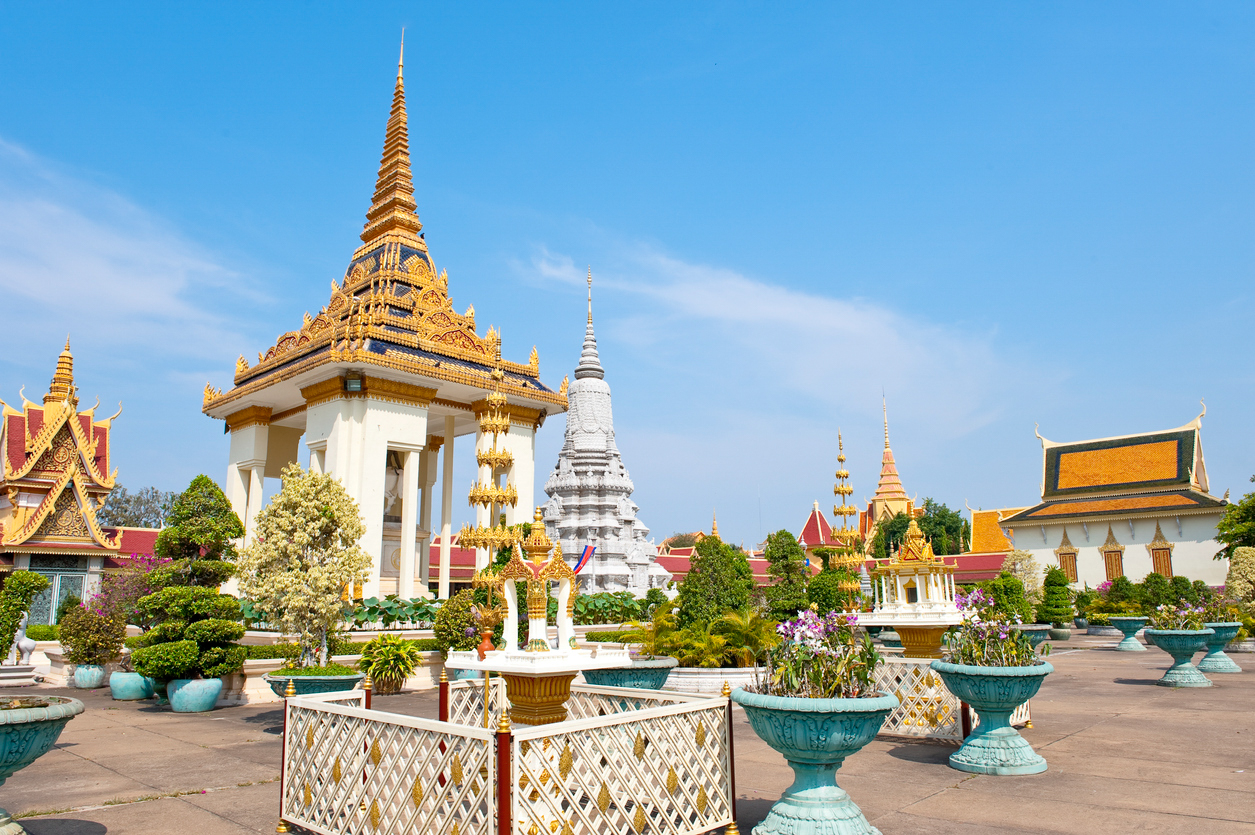 Grand royal palace in Phnom Penh, Cambodia - redtag.ca