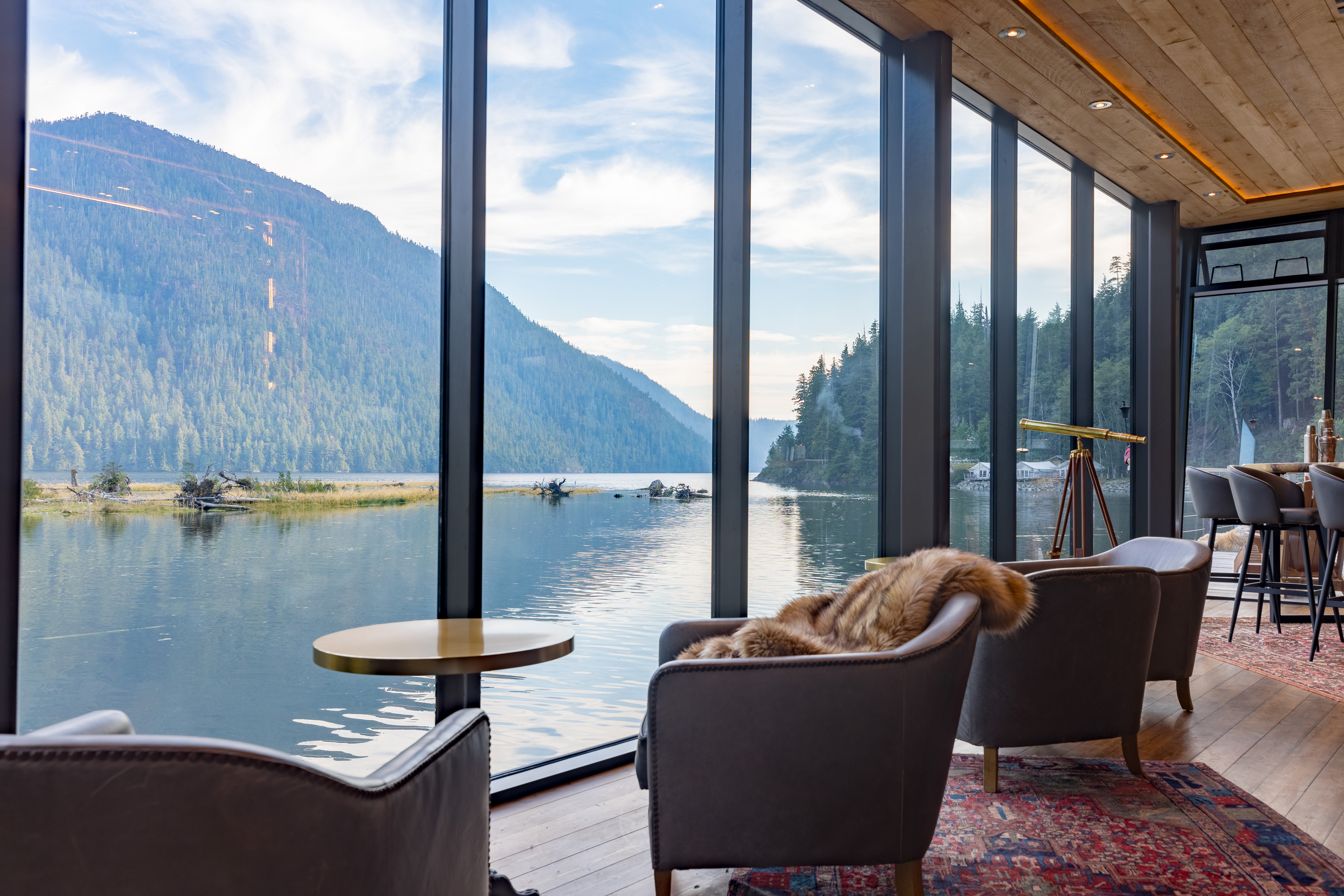Clayoquot Wilderness Resort by Tom Cahalan